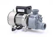 "Bath Pump, Waterway Genesis Generation 321JF10-1150 321JF10-0150 9.5A 115V Airswitch & Power Cord 1-1/2"" Top Discharge, Hydr-O-Power, BT7305 Hydrabaths pump, EGIS pump, replacement for Emerson pumps"