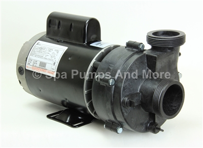 "5235208-S PUUM2202582FR Spa Pump 230 Volt 8.8A 56 Frame 2-Speed 3.1"" threaded connections, 1016204, 1056204, E75122, 1016012"