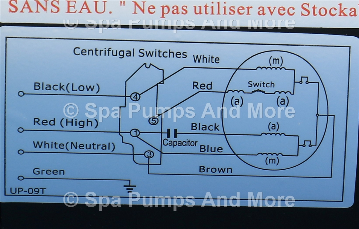 56wua400 Ii Lx Spa Pump 2 Speed 230v 120 35a 56fr 65 Diam Two Sd Wiring Diagram Our Price 39040
