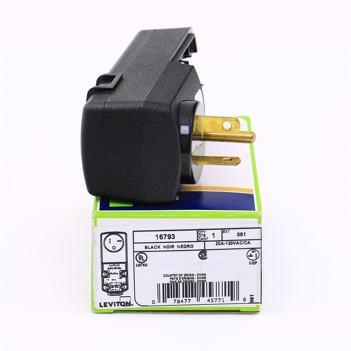Gfci Plug 115 Volt 20 Amps Rated Gfi Plug
