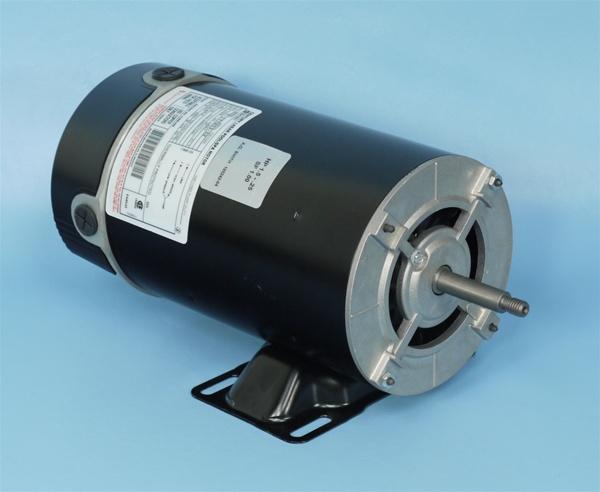 Spa pump motor 2 speed century bn50 century 7 177803 02 for Spa motor and pump