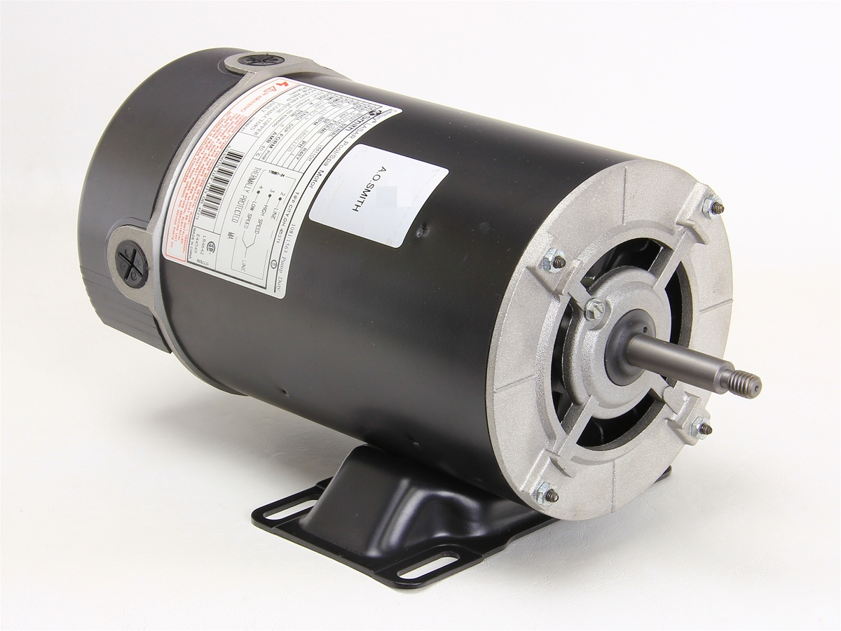 Waterway spa pump motor 2 speed century bn37 5kc38rn3818x for Spa pumps and motors