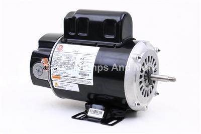 Waterway spa pump motor 2 speed century bn37 5kc38rn3818x for Century lasar pool spa motor