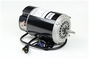 "1 speed 115V 48FR 09.8A 5.5"" diameter 177893 Century motor w/ airswitch & powercord"