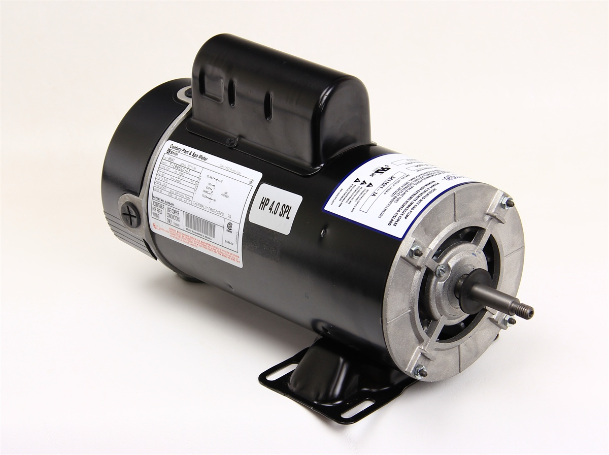 1speed 230v 12 0a 48fr century motor by a o smith 60hz 5 for Ao smith pump motor