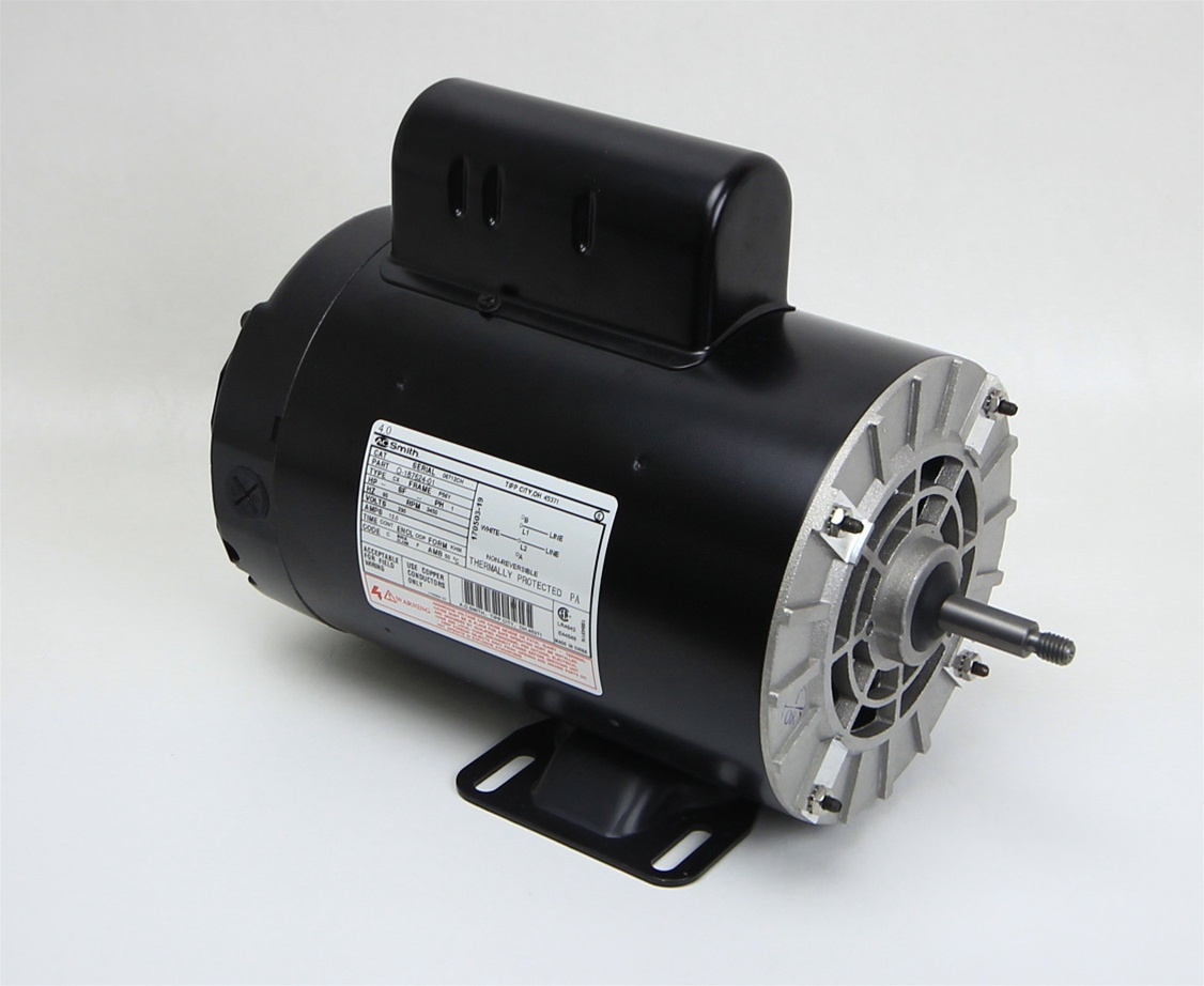 Spa pump motor 1 speed 230 volt 12 0 amps 56 frame 6 5 for Ao smith pump motors