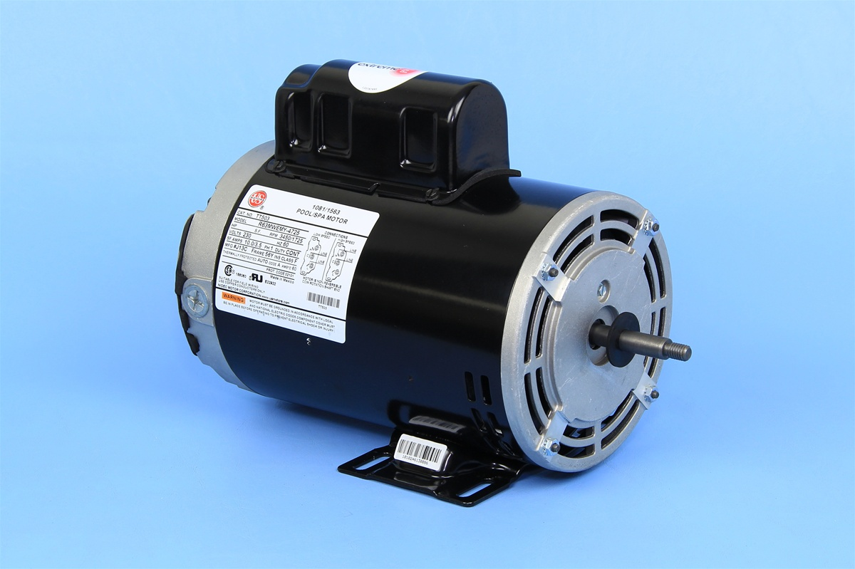 Century spa pump motor 7 187694 01 for Hot tub pumps and motors