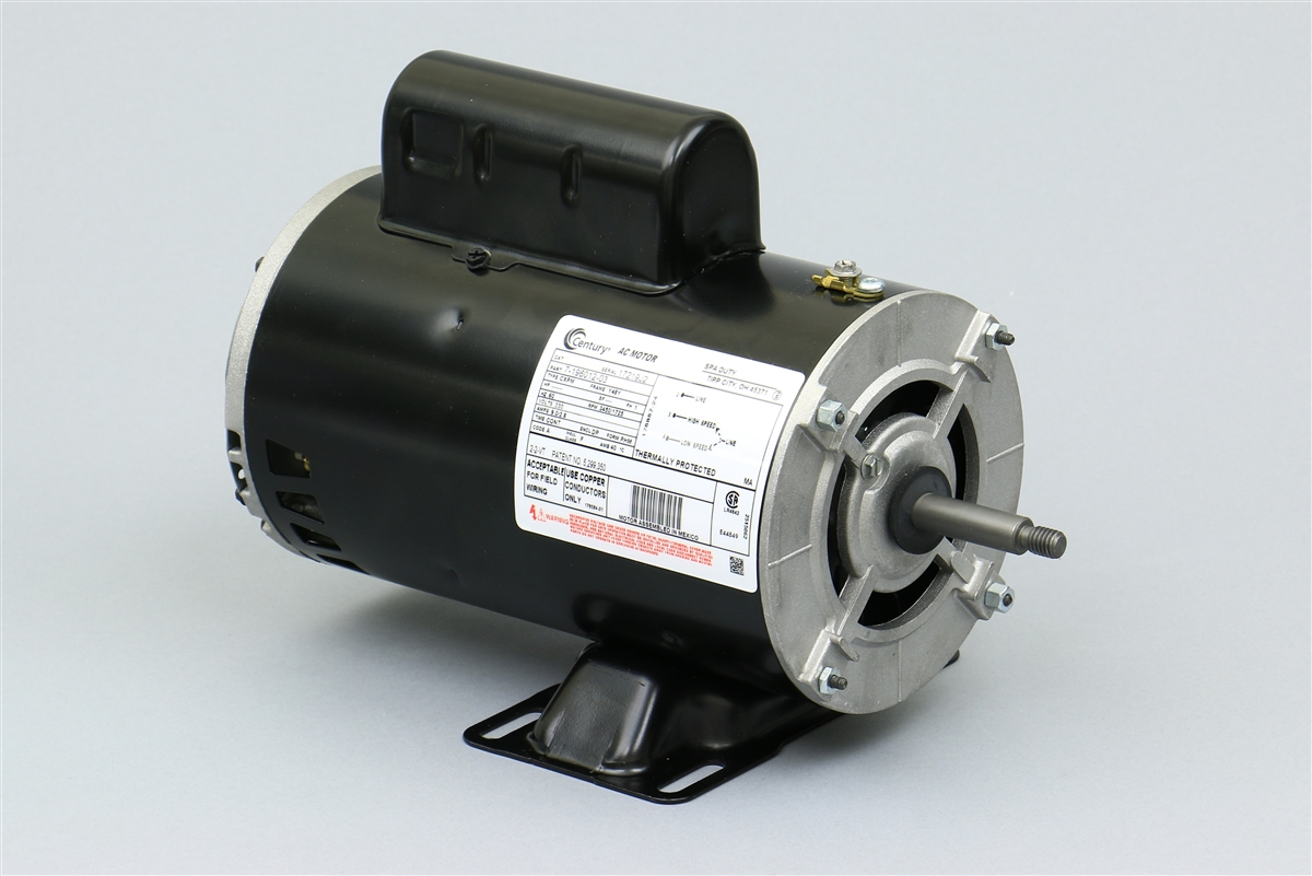 Spa Pump Motor Century 7 196012 03 Mp 130 Marquis Mp 130