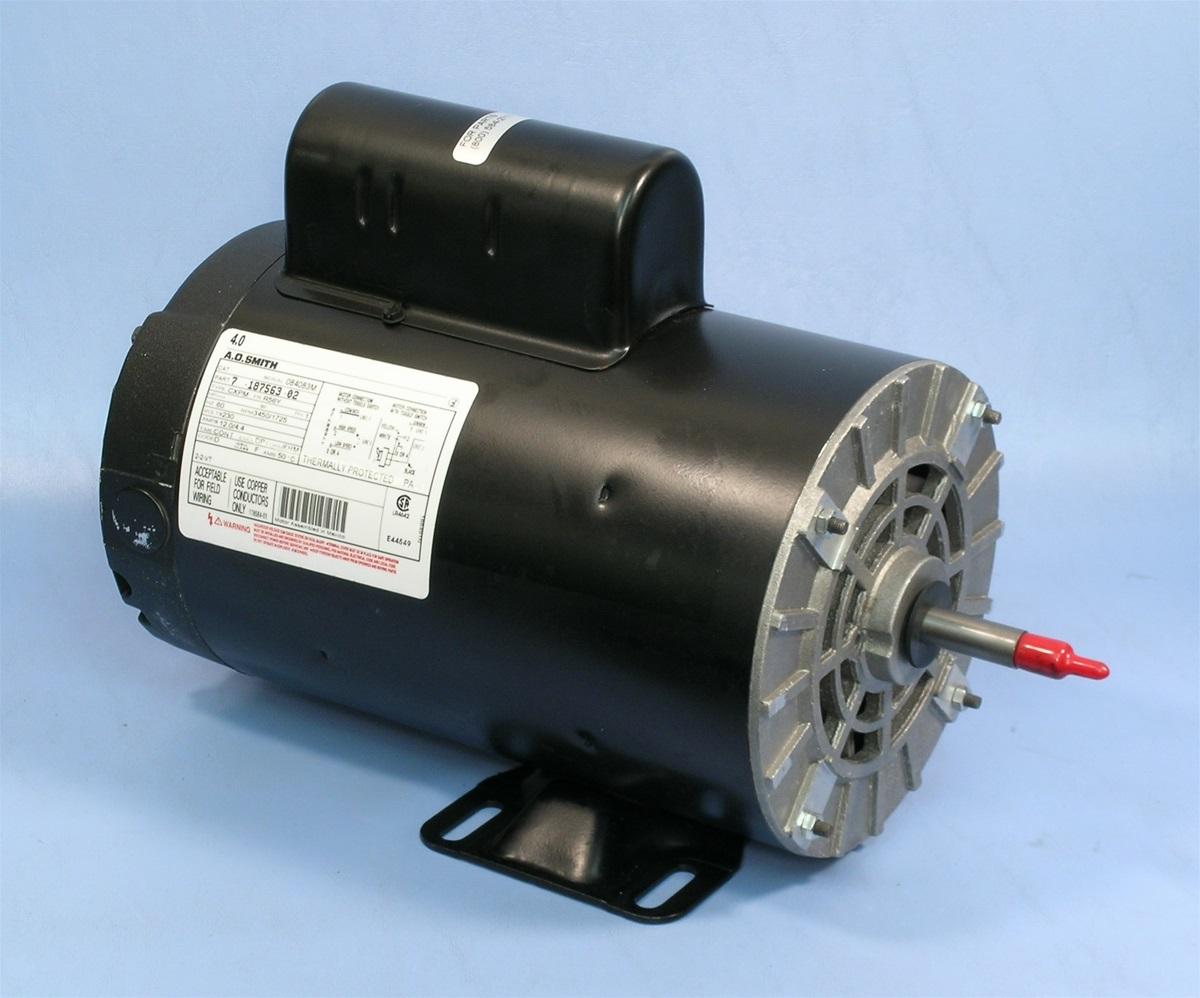 Mtraos 187563 tt505 spa pump motor 56fr 2 spd 12a 230v us for Spa motor and pump