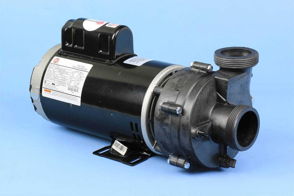 Puum2402582f 1016196 56f 16 4a 230v 2 speed 3 1 threaded for Cal spa dually pump motor