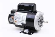 "2 speed 115v 7.6 to 8.8 amps 48fr BN36 replacement R55CXFDV-0336 U.S. Motors 60Hz 5.6"" Diam. BARE MOTOR, replaces 7-177781-02, 3420310-1"