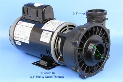 waterway pumps  spa pump  3722021 1d  37220211d
