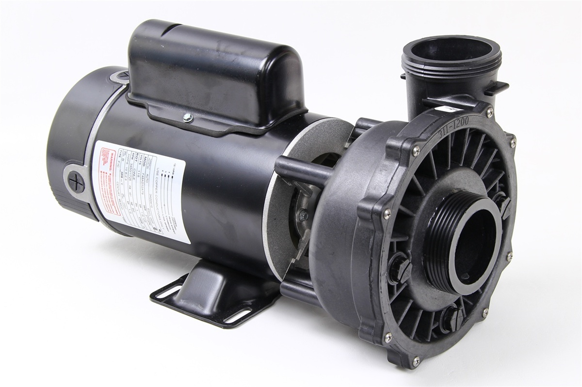 Waterway spa pump executive 48 series 3420410 1a for Spa motor and pump