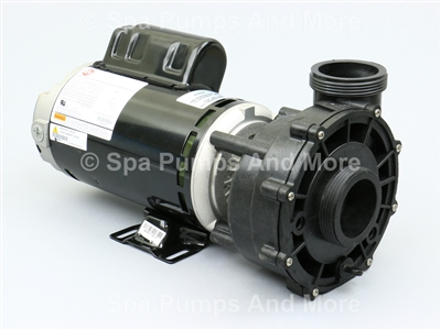 "3420610-1U Waterway EX2 Spa Pump 2-speed, 115V, 14A 48 frame 5.6"" diam. replacement for Aqua-Flo XP2, Wavemaster 5000 36745"