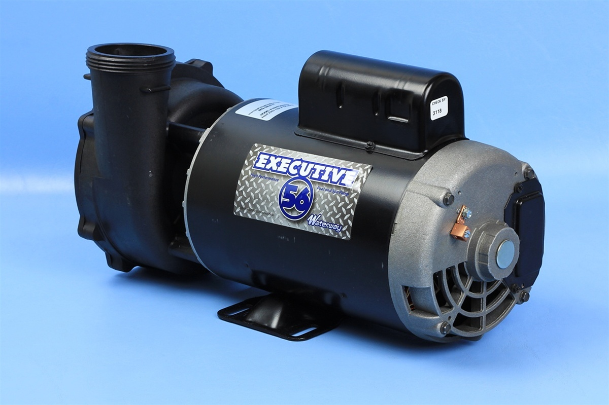 Waterway Spa Pump 3721621 1d 37216211d Pf 40 2n22c