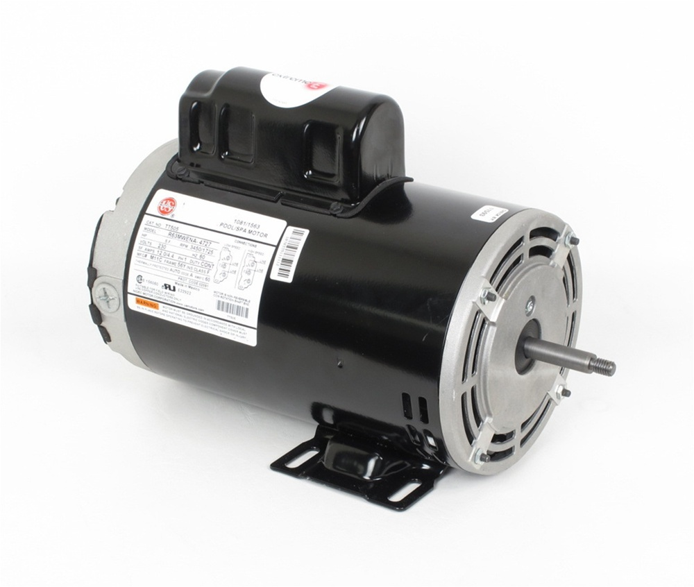 2 speed 230v 56FR 12.0A 1110014 Spa Pump Motor 1110014 Spa Pump Motor 56  frame 2 speed 230 volt Century 7-187563-02, Waterway p/n 3721621-1, AO  SMITH 7-187563-02Spa Pumps And More