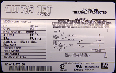 Kcr Tn Cx T on Dayton 1 3 Hp Motor Wiring Diagram