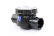 "One Way Water Check Valve 1-1/2"" Socket/2"" Spg connections Waterway 600-7030 CPVC, 6007030"