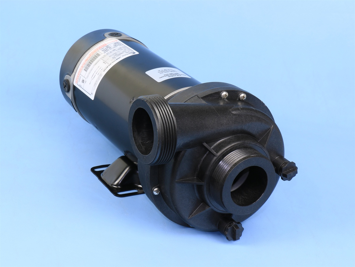 6500 266 theraflo spa pump 1 speed 48 frame 230v 10a 115v for Jacuzzi pumps and motors