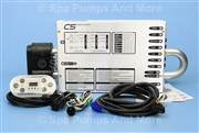 United Spa Controls Hot Tub Heater Control C7 C5 C7B, United Spa Controls Hot Tub Heater Control C7 C5 C7B, United C5, United CB8, 119733, T7 Command Center, Intertek 119733, United Spa Controls, United Spas C5, Low Flow Spa Control, Low Flow Spa Heater