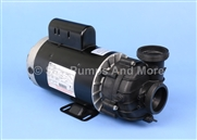"DJAHB-0155M 1 Spd 230V Spa Pump 12.0A Dura Jet Spa Pump 56F 2"" 3.1"" threaded connections 6.5"" diameter motor"