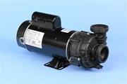 "DJS245258220 12A 230V 2-spd 48Fr spa pump 3.1"" OD threaded connections 5.6"" diameter motor DJ pump Dura Jet pump"
