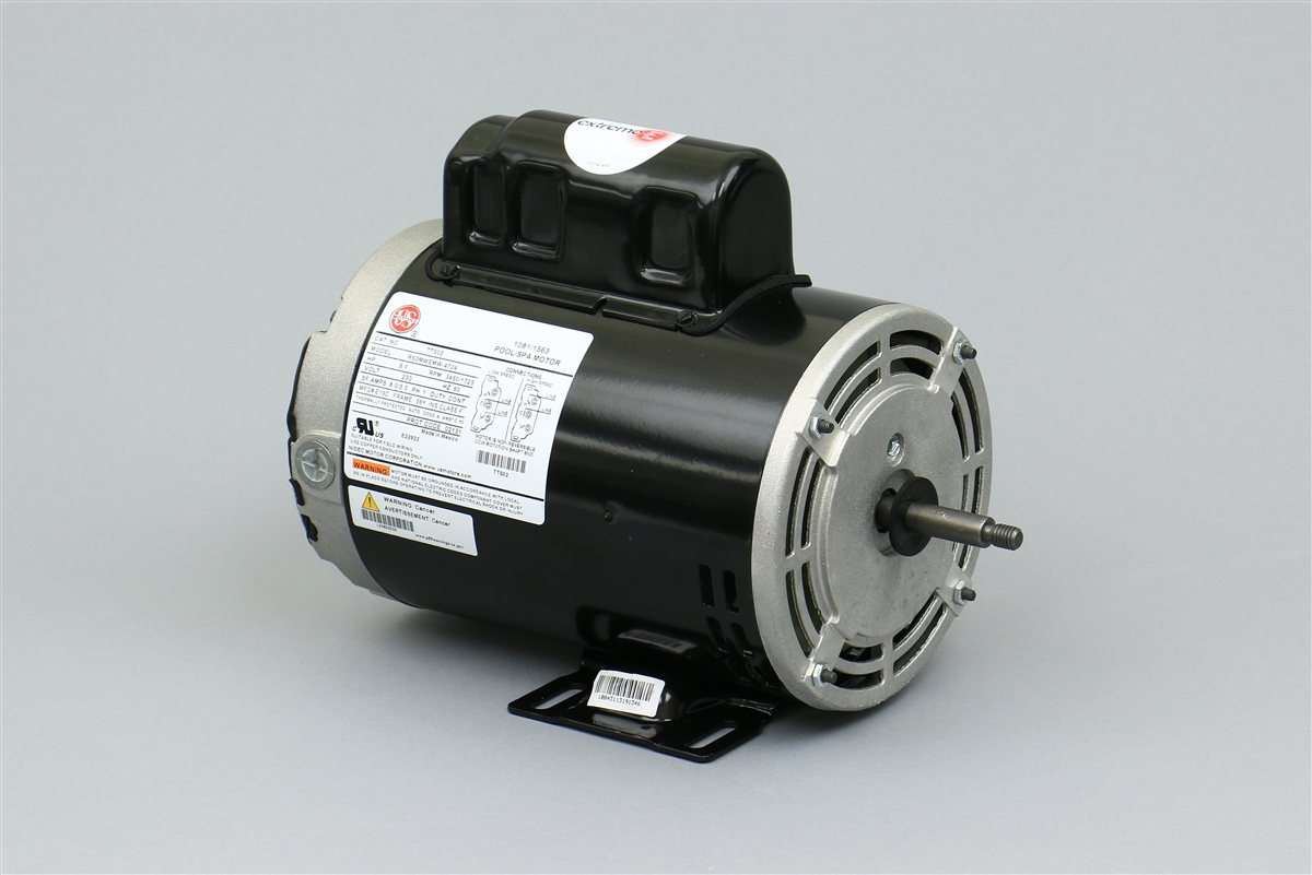 Century spa pump motor 7 187693 01 8a 230v 56f 2s 187693 for Spa pumps and motors