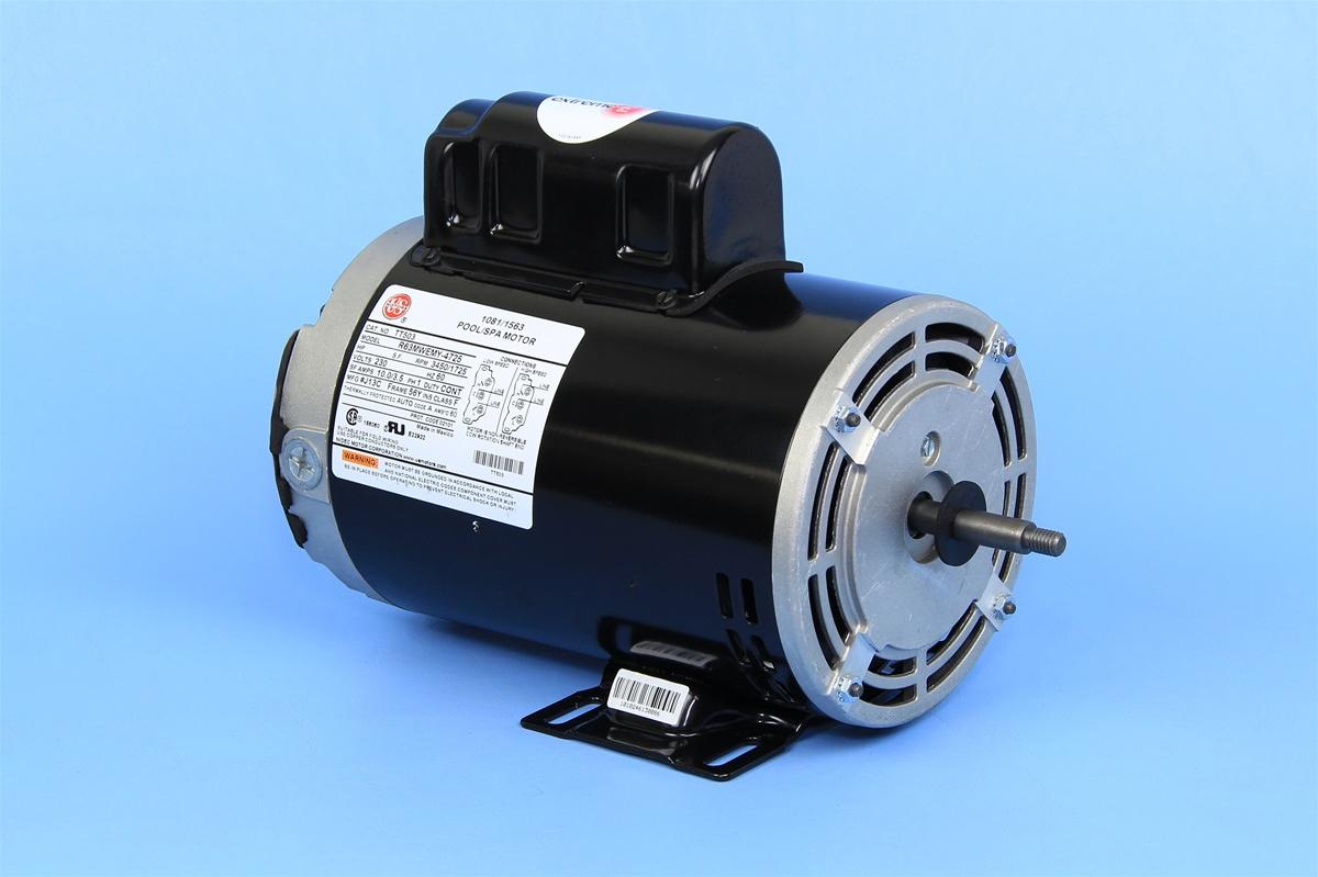 2 sd 230v 10.0A 56Fr Spa Pump Motor R63MWEMY-4725 TT503 7-187694-01 Magnetek Wiring Diagram on