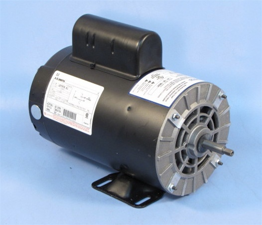 Spa pump motor 56fr 1 speed 230v mtraos 187970 century a o for Spa pumps and motors