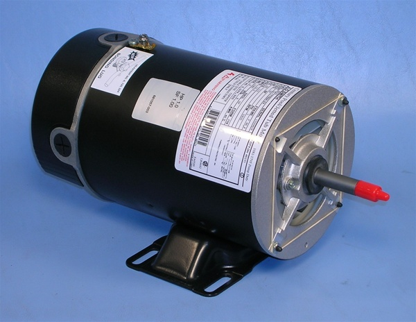 waterway pump motor century motor 115v 12a one speed 48fr bn25 bn25 rh spapumpsandmore com