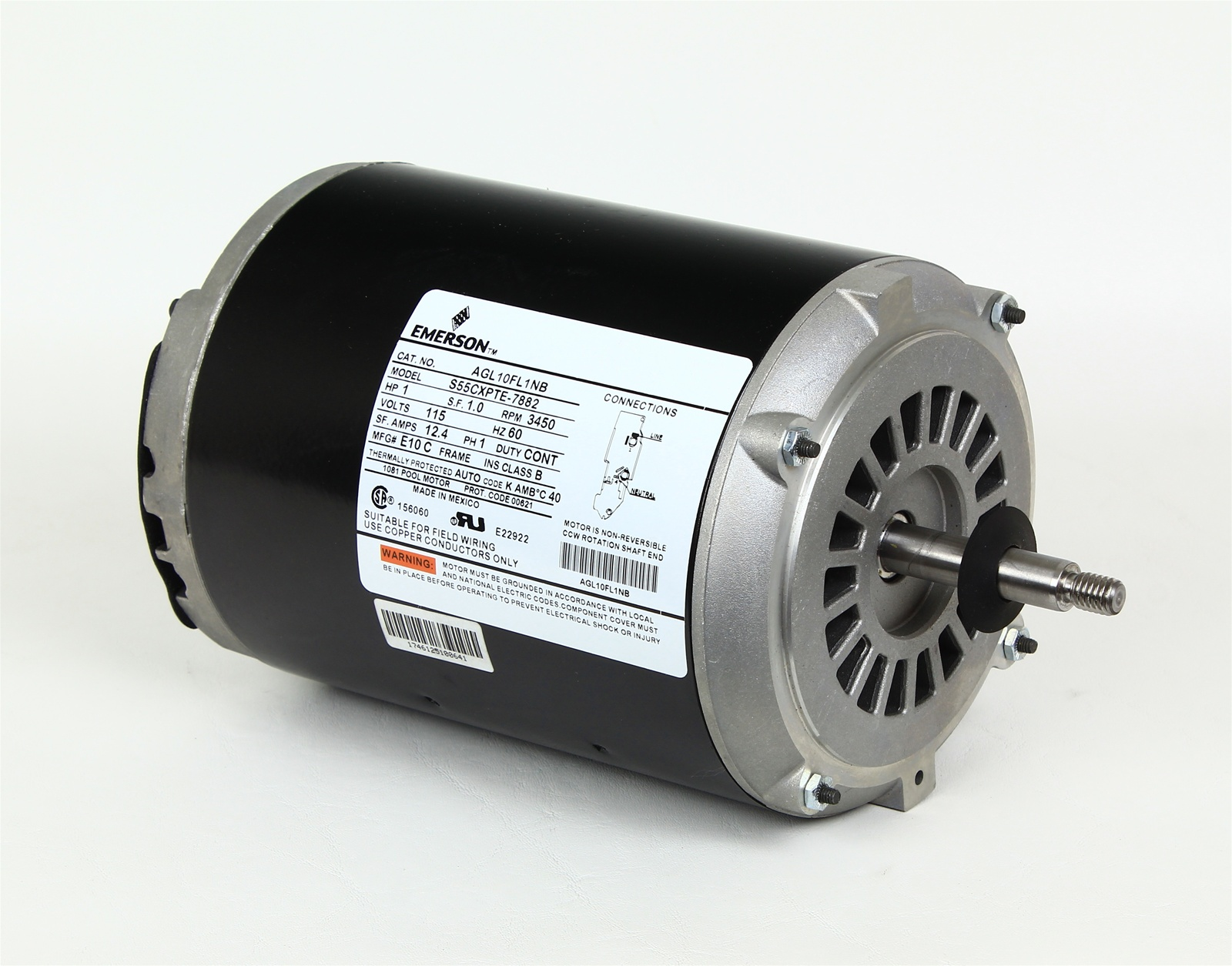 Softub Motor For Softub Pump Mtrem 6497 Soft Tub 1114015