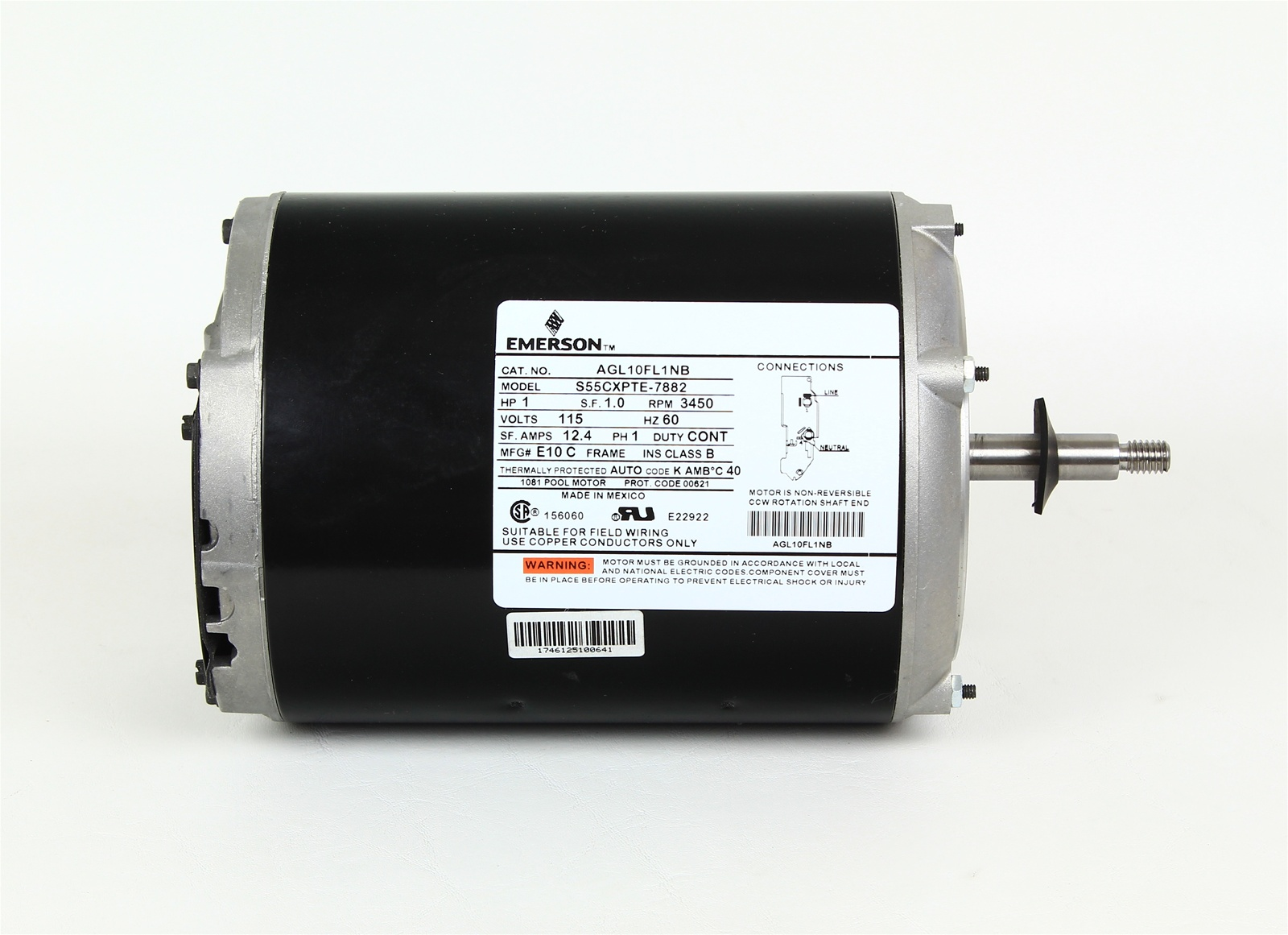 Softub Motor For Softub Pump Mtrem 6497 Soft Tub 1114015 Agl10fl1nb