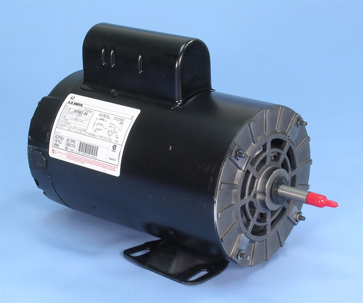 Mtraos 187563 tt505 spa pump motor 56fr 2 spd 12a 230v us for Hot tub motor replacement