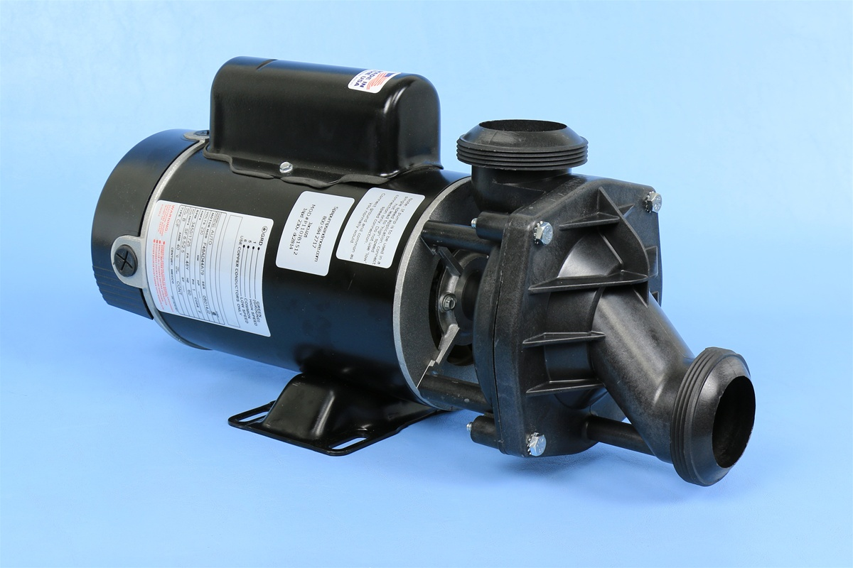 Jacuzzi j pump 2500 250 230v 1 speed p110jb1524 2500 for Emerson spa motor 1563