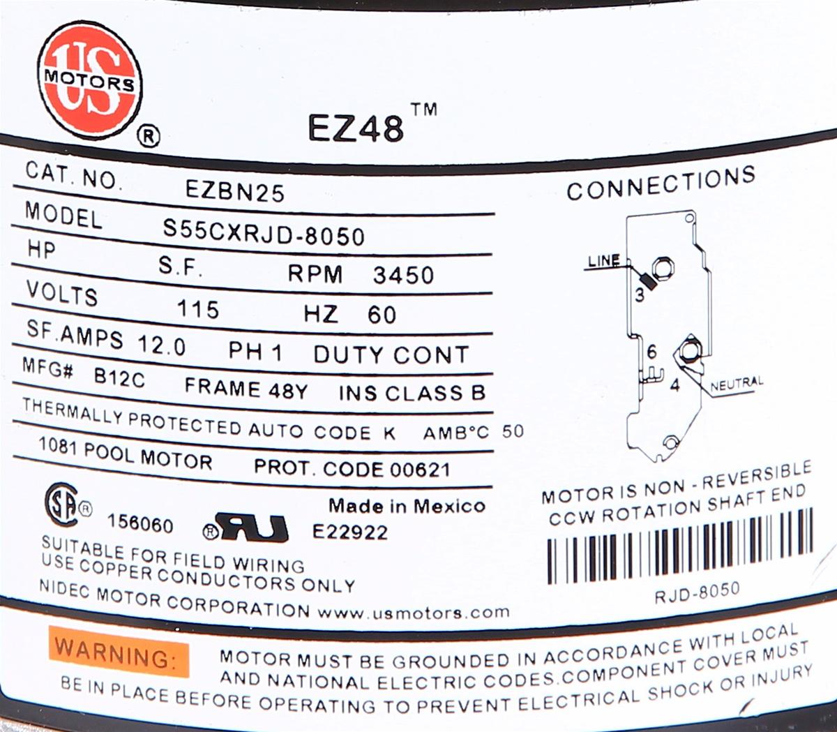 Puuf1003 Softub Pump 1013005 Soft Tub Pump
