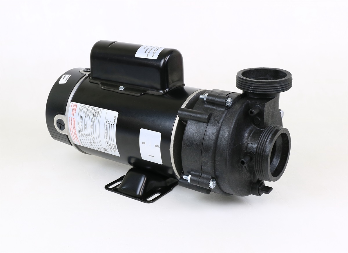 Puul215258220 spa pumps energy efficient 1 5hp 230v 8a for Spa motor and pump