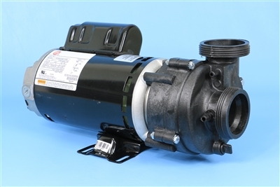 "PUUPC220258220R Spa Pump 2HP 230V 2-Speed 2""SD/CS 9.0 to 10.5A"