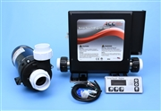Spa Equipment Pack - SMTD1000 & Hi-Flo 8.5A 2-spd pump, replacement control and pump to refurbish your hot tub.