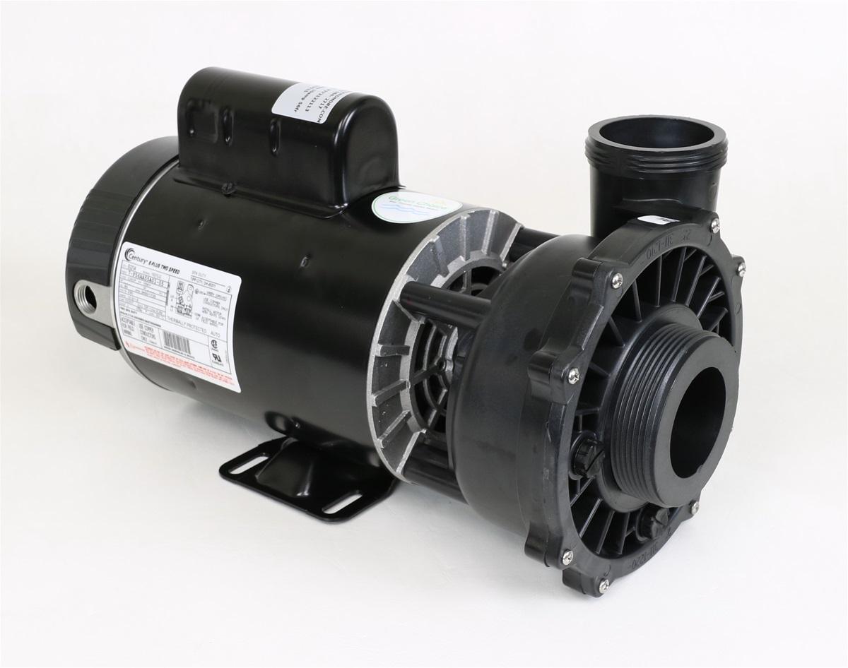 Waterway spa pump 3721221 13 372122113 pf 30 2n22c for Jacuzzi pumps and motors