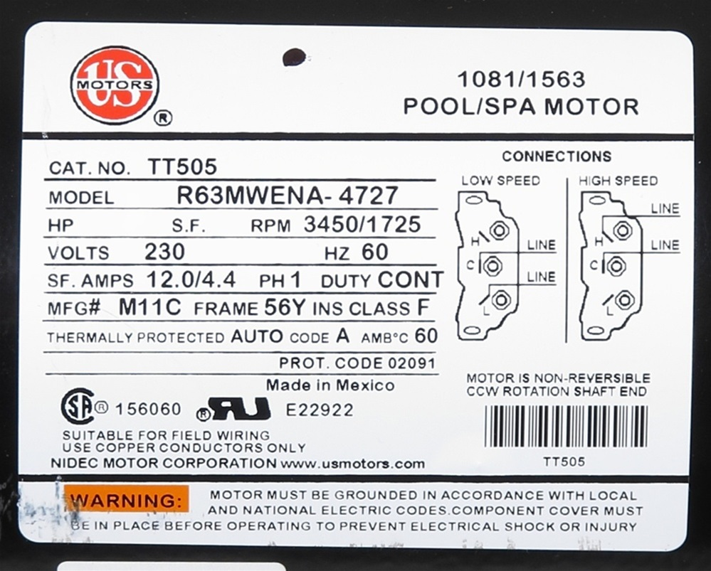 Viper 2 Speed Spa Pump Wiring Diagram Portal Emerson Pool Motor Waterway 3721621 1v Pv 40 2n22c 0t7h Rh Spapumpsandmore Com Hpb1500ii Sumpmarine