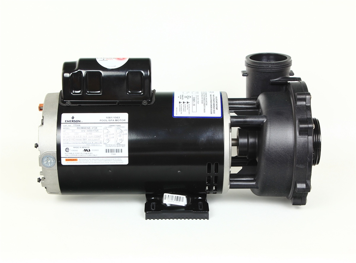 Waterway Pumps Spa Pump 3722021 1d 37220211d P250e52024 Pf 50 2n22c Emerson 1081 Wiring Diagram 230v Our Price 41550